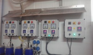 Sistema Integral de Medición y Control de pH y Cloro en planta alimenticia.